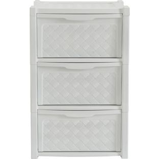 Buy 3 Drawer Rattan Effect Tower Storage Unit at Argos.co.uk, visit Argos.co.uk to shop online for Plastic storage boxes and units