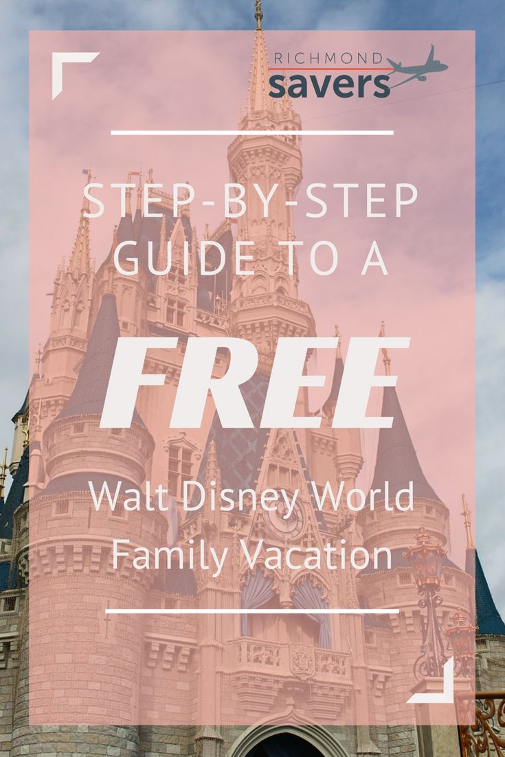 Save money on Disney World and go for FREE with these tips. Tickets, hotel, and flights covered.