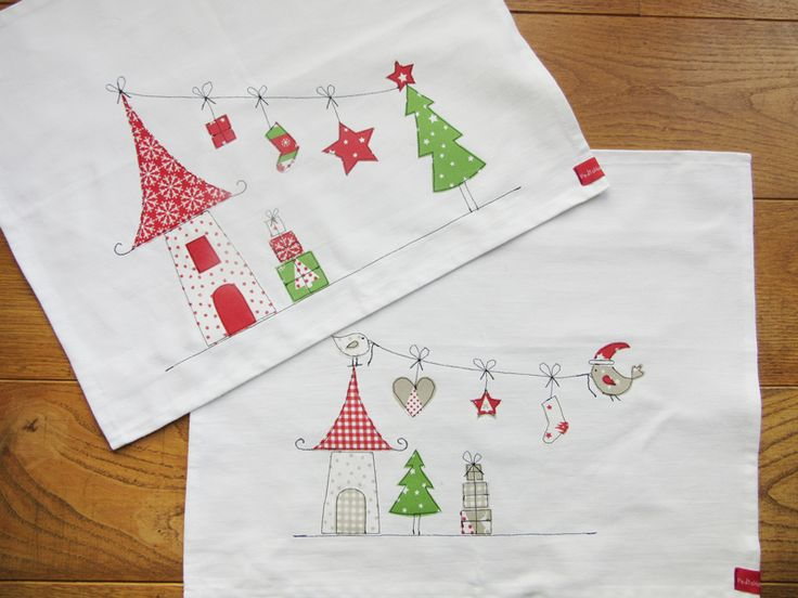 Gastbeitrag: Weihnachtliche Tischsets besticken | buttinette Blog