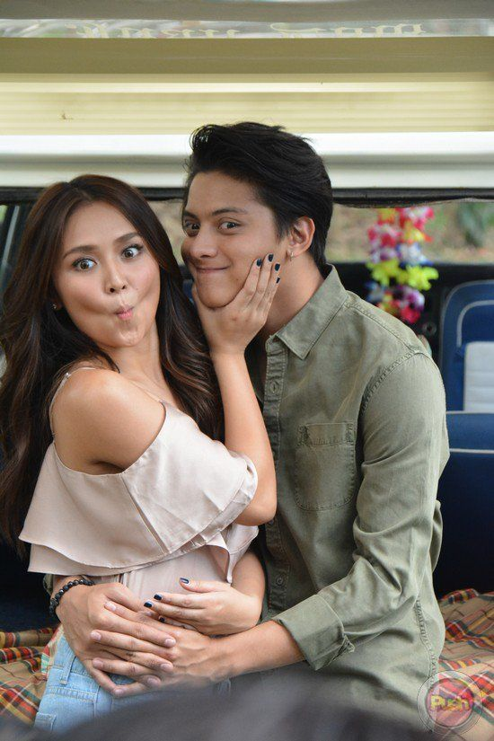 12 - Kathniel's Pictorial BTS for Can't Help Falling In Love - Push.com.ph
