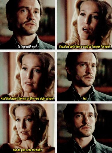 It took him 3 seasons to understand enough and finally ask that question *sobs*. Hannibal 3x12 The Number of the Beast Is 666. Source: color-division.tumblr