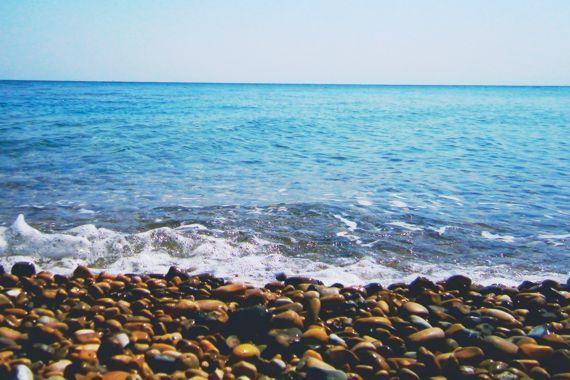 Chios Island Greece Information and Photo gallery: Agia Fotini (Agia Fotia) beach. Stay at www.argentikon.gr and unveil Agia Fotini!