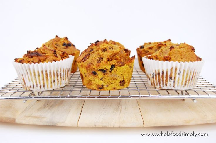 Breakfast Muffins. DELICIOUS! Perfect for breakfasts and snacks on the run. Free from gluten, grains, dairy, nuts and refined sugar. Enjoy.