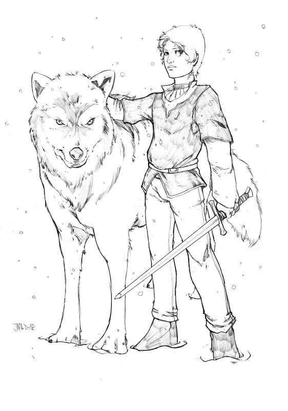 Ary stark | Coloriage GAME OF THRONES | Pinterest | Game ...