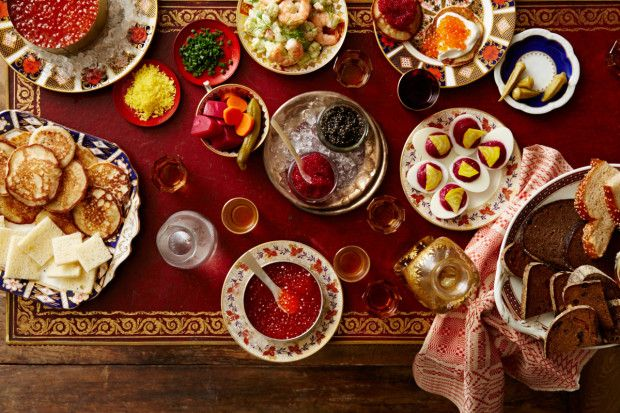 How to Drink (and Eat) Like a Russian on New Year's Eve - Bon Appétit