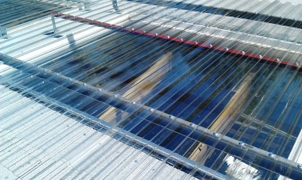 installing skylight corrugated roof - Google Search