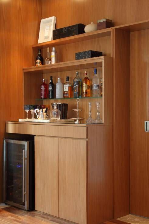 自分だけの小さいワインセラーを作ろう MF Arquitetosが手掛けたtranslation missing: jp.style.ワインセラー.modern