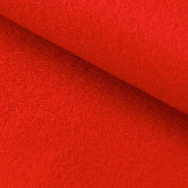 Rigtig flot rød og kraftig hobbyfilt fra Sjovogkreativ.dk med en tykkelse på 3mm til hobby og håndarbejde for både børn og voksne.