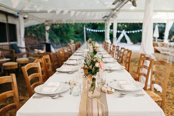 Un matrimonio rustico e fai da te | Wedding Wonderland