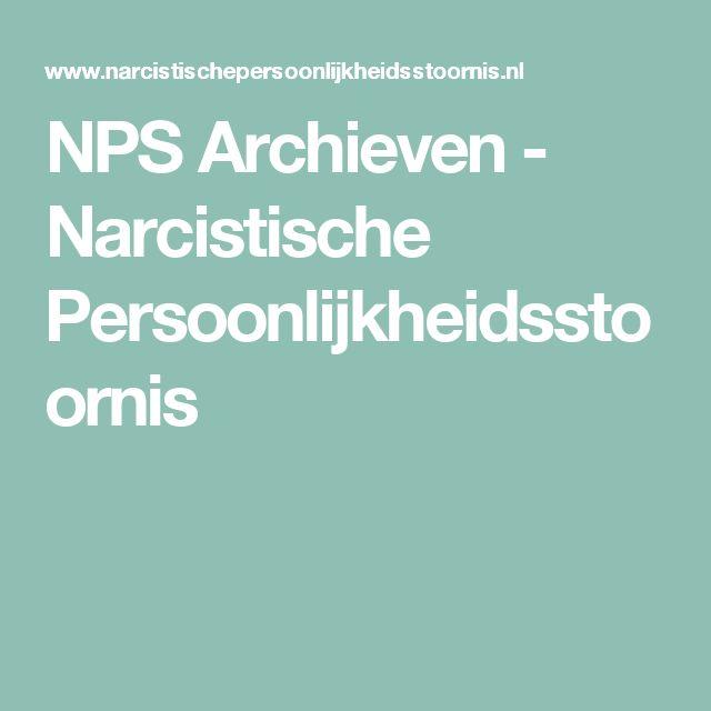 NPS Archieven - Narcistische Persoonlijkheidsstoornis
