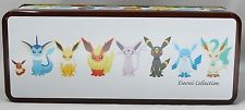 Pokemon Center Limited EEVEE COLLECTION 2012 Tin Can Box From JAPAN KAN Rare