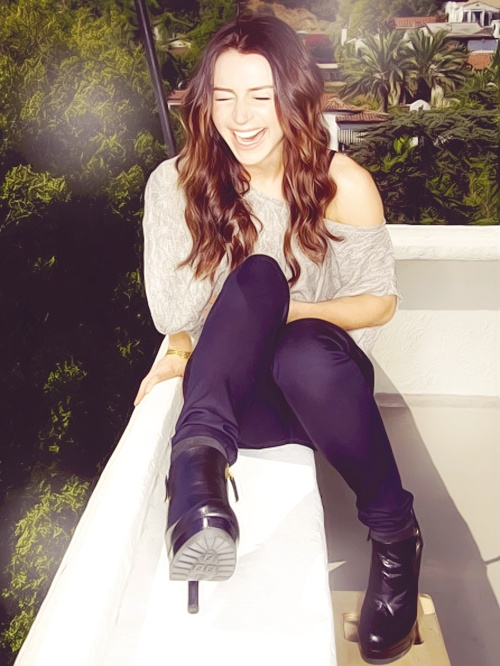 I think if I had to pick an actress to play Kat, she could be one of the top - even the name fits.  :)  Caterina Scorsone