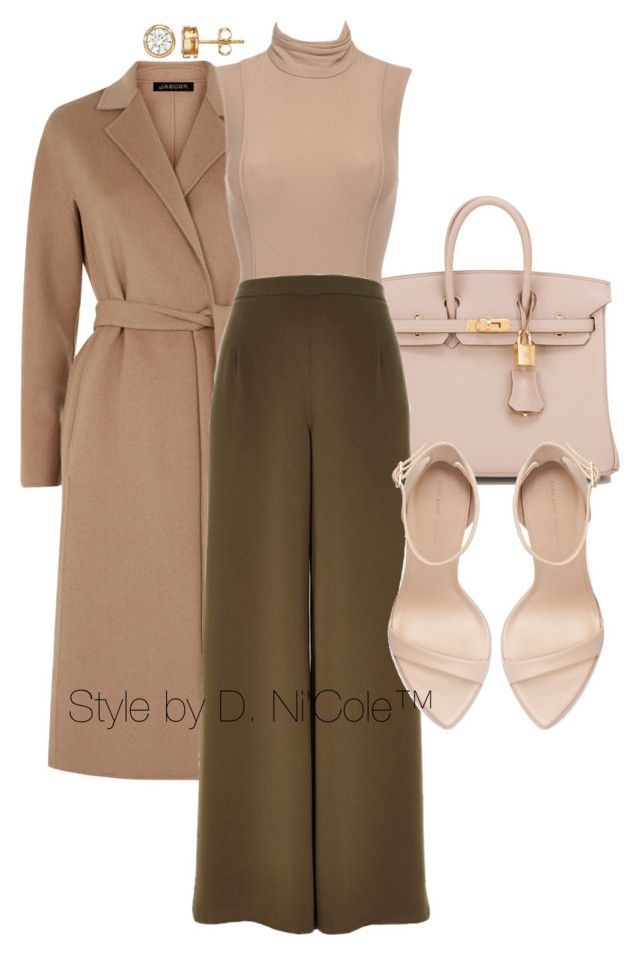 """""""Untitled #2996"""" by stylebydnicole ❤ liked on Polyvore featuring Hermès, Jaeger, River Island and Zara"""