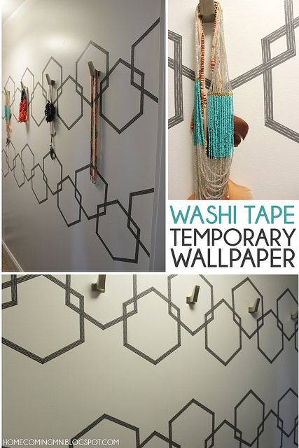 Washi Tape Wallpaper by Home Coming, via Flickr