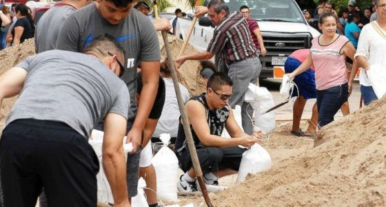 "Tens of thousands of Texans have evacuated their homes fearing Hurricane Harvey. Now, one local leader in a coastal Texas community had told residents who chose to stay home during the hurricane, to write their names and Social Security numbers on their arms. Rockport Mayor Pro Tem Patrick Rios said at a news conference, ""We're suggesting if …"