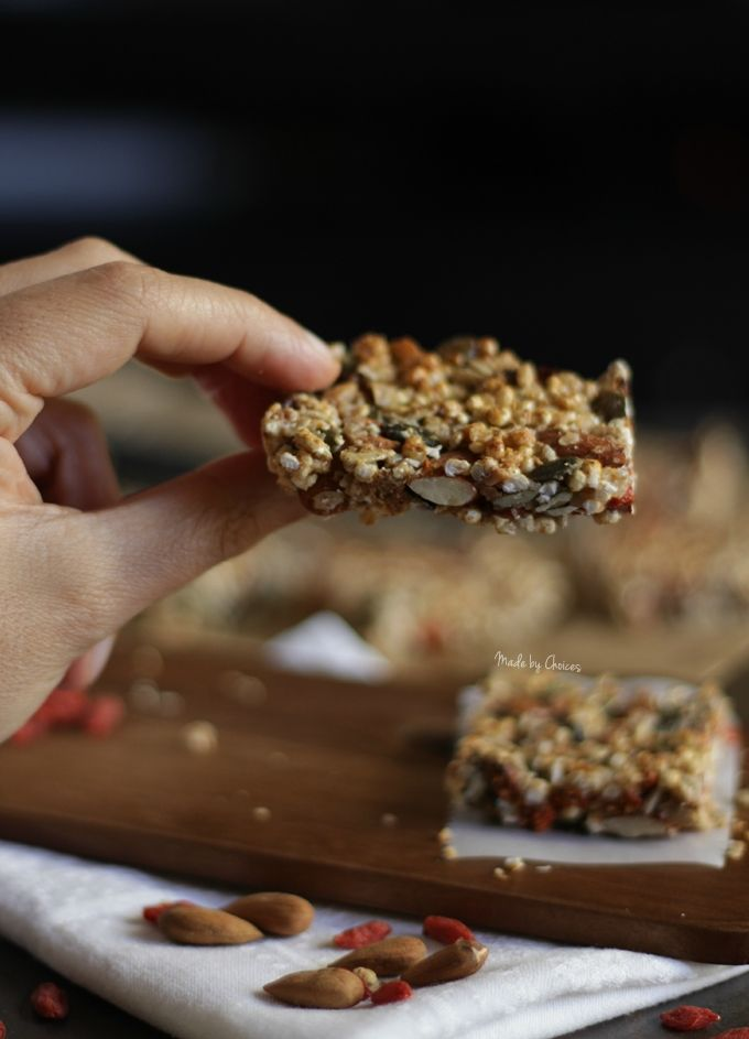 Como fazer Barras de Cereais, sem gluten, fáceis e deliciosas | How to make gluten free, easy and delicious Granola Bars #glutenfree #granolabars