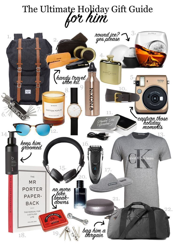 22 Gift Ideas For Him This Holiday Season See Want Shop Birthday Presents For Men Birthday Presents For Him Christmas Presents For Dad
