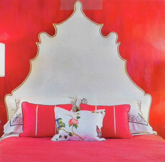 Abnormally snapped Chinoiserie Headboard