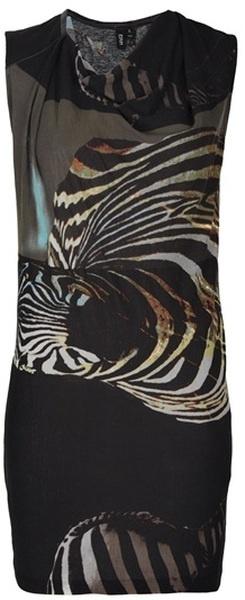 Edun Zebra Print Dress