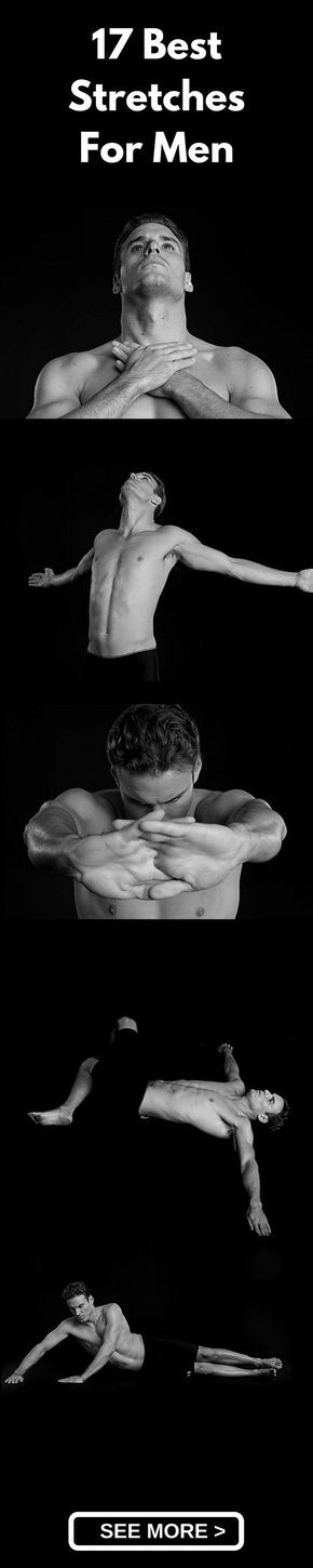 Having pain in your back? Not feeling fresh in the morning? Start doing these 17 best stretches for men and see the difference for yourself. These stretches ar
