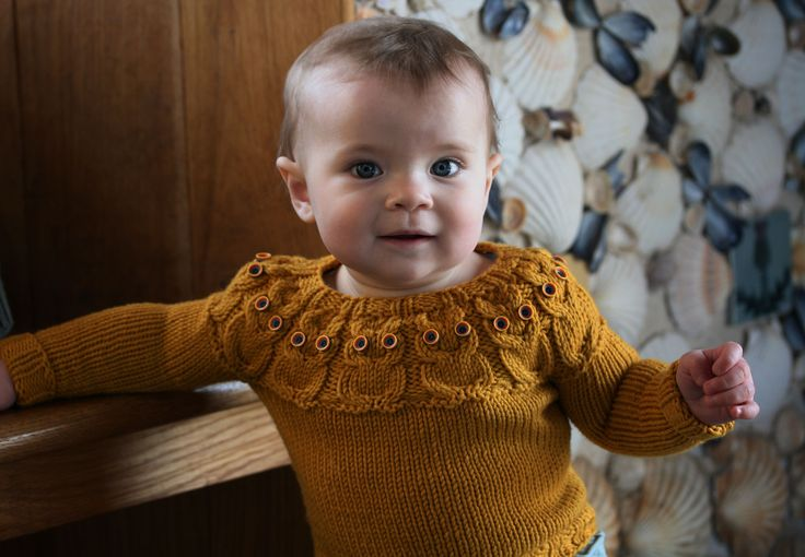 owlet baby sweater pattern by kate davies designs