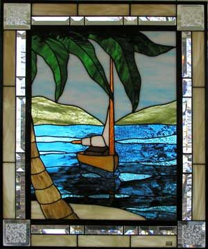 503 Best Stained Glass Nautical Images On Pinterest