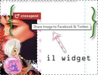 Crosspost, il widget di condivisione sul vostro blog in due click, tutorial http://graficscribbles.blogspot.it/2014/02/Crosspost-widget-condivisione-social-network-tutorial.html