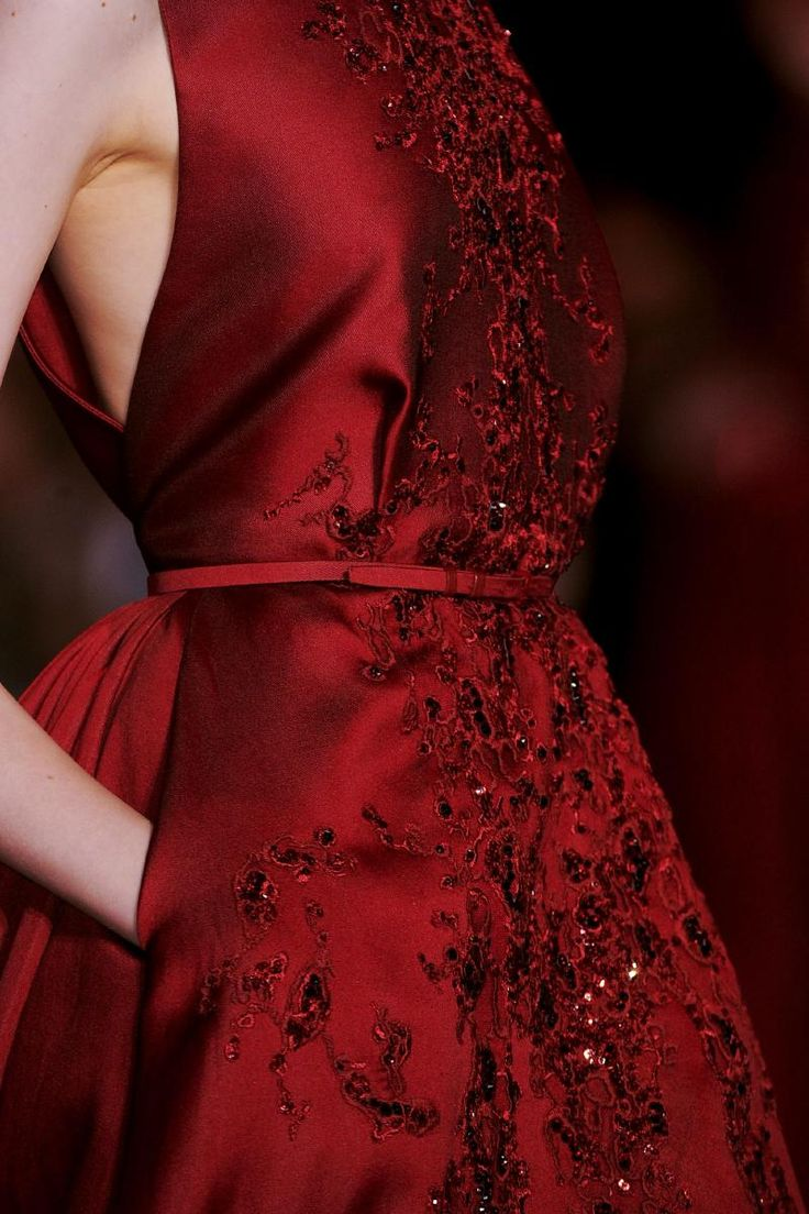Details Elie Saab Collection FW2013 Couture