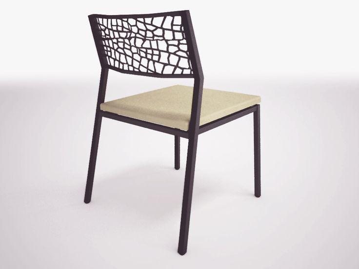 Chair steel laser cut