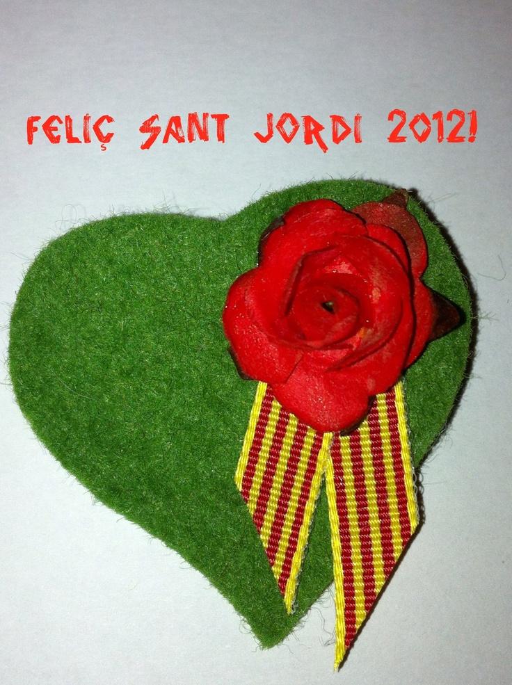 Pin de Sant Jordi 2012   Feltre