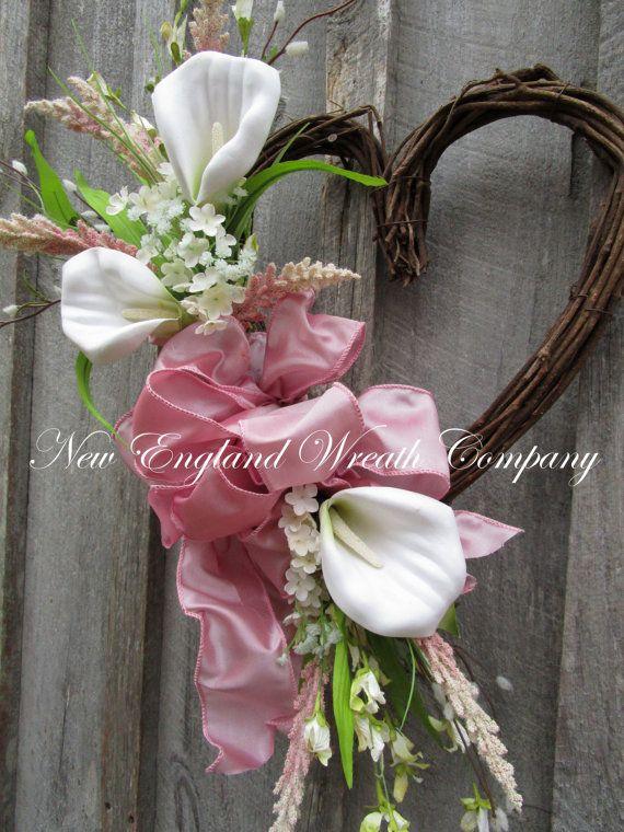 Valentine's Day Wreath Heart Wreath Elegant Wreath