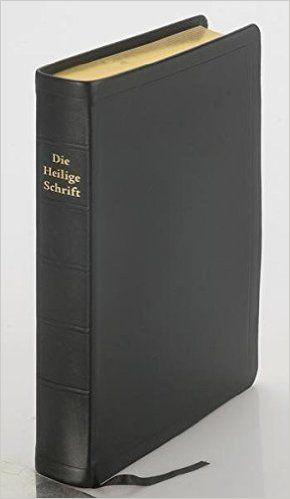 Die Bibel - größere Schreibrandausgabe: Elberfelder Überarbeitung 2003, Edition CSV-Hückeswagen, feines Kalbsleder, schwarz, Goldschnitt, mit Karten: Amazon.de: Bücher