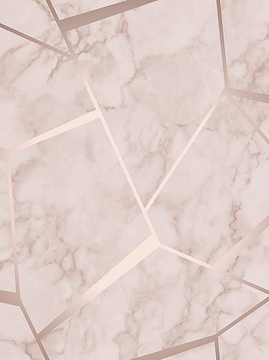 Best Fractal Geometric Marble Wallpaper Rose Gold Fine Decor 400 x 300