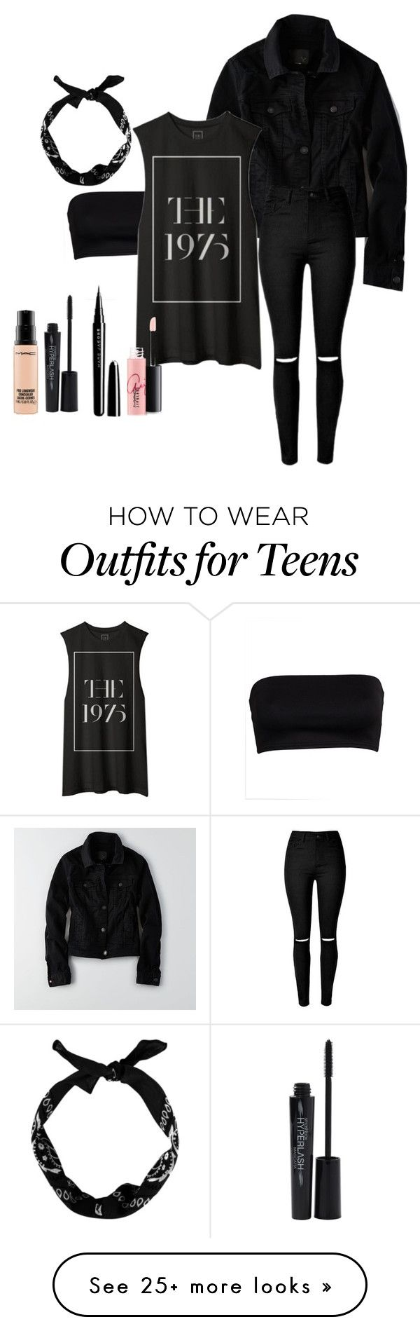 Untitled #1 by fivesecondsofhemmings on Polyvore featuring American Eagle Outfitters, Smashbox, Marc Jacobs, MAC Cosmetics, women's clothing, women, female, woman, misses and juniors