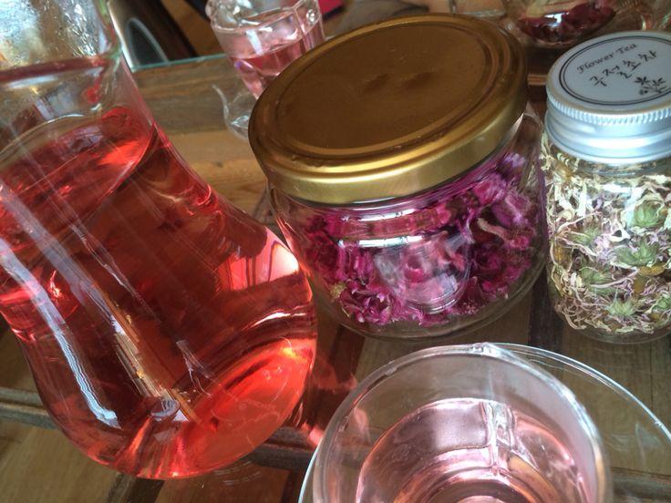 맨드라미꽃과 구절초꽃차 한잔하세요