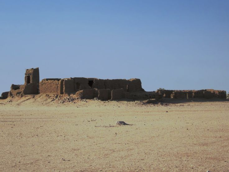 This abandoned French fort is at Oum-Chalouba just west of Kalait in Chad, Central Africa.
