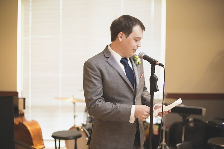 Catholic Church Summer Wedding | Italian themed wedding reception | Groomsmen speech