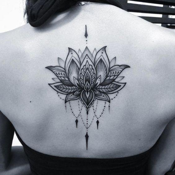 Lotus Flower Tattoo by Nick Hart