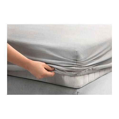 GULDAX Spannbettlaken IKEA Spannbettlaken mit eingearbeitetem Gummiband, passend für Matratzen bis zu 25 cm Stärke.