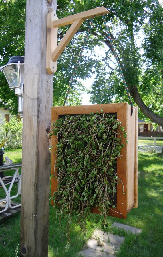 Double Sided Hanging Vertical Garden Planter For Annuals