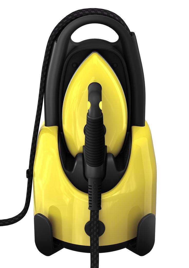Laurastar Lift steam centrals in limited edition Citrus Chic #ironing #design #swisstechnology