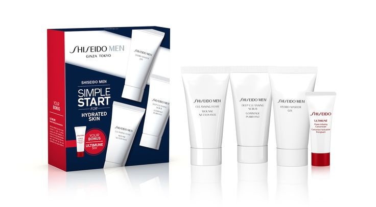Shiseido Men Starter Kit