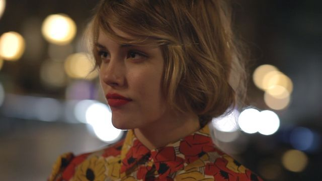 Une Fille Comme Les Autres by Matthew Frost. A short for the french fashion magazine Jalouse starring Ashley Smith.