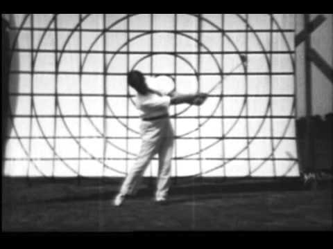 Bobby Jones 1930 Golf Swing Analysis 16mm CinePost Restoration