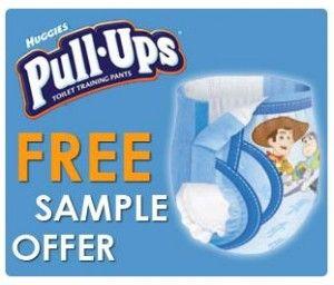 Free Sample – Huggies Pull-Ups Training Pants