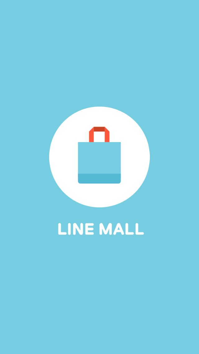 LINE MALL splash screen (201604) #LINEMALL #LINE #splash