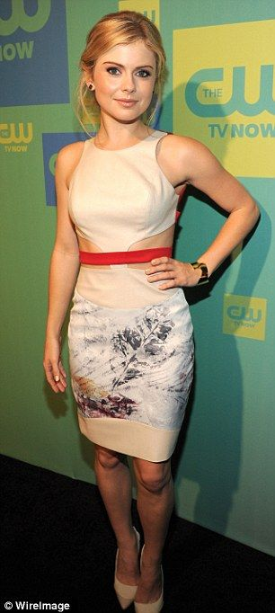 Rose McIver (2014 The CW Upfronts)