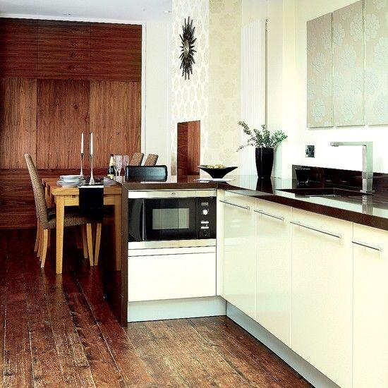Wooden Kitchen-Diner