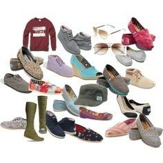 Tomes shoes , I like all of them. And the price the low.$17.95