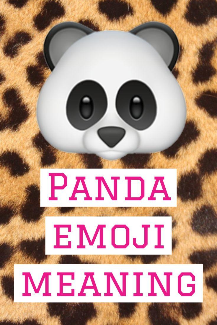 Panda Emoji Panda Emoji Emoji What Is Pandas